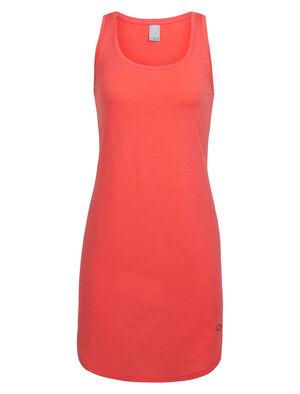 女款 Cool-Lite™ Yanni背心连衣裙 Yanni女款运动风背心连衣裙采用休闲剪裁和低圆领设计,以Cool-Lite™美丽诺羊毛平纹针织面料制成,更加舒适耐穿。