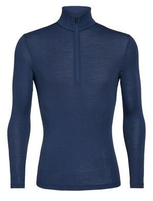 男款 175 Everyday长袖半拉链上衣 多功能175 Everyday长袖半拉链上衣采用柔软透气的100%美丽诺羊毛制成,是一款用途广泛、舒适百搭的经典打底T恤。