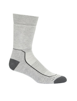 Mens Merino Hike+ Medium Crew Socks Lightweight, durable and odor-resistant trail socks designed for maximum comfort and premium fit, our Hike+ Medium Crew socks are ideal for long hikes and multi-day backpacking.
