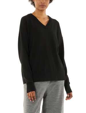 Merino Shearer V Neck Sweater