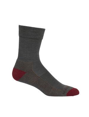 Femme Merino Hike Light Crew Socks Chaussettes de sentier robustes et résistantes aux odeurs offrant un maximum de confort et un ajustement de qualité, nos mi-chaussettes de randonnée légères sont parfaites pour les jours de randonnée et les temps plus chauds.