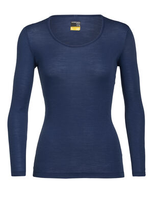 Womens Merino 175 Everyday Long Sleeve Scoop Neck Thermal Top A classic, all-purpose base layer T-shirt made with soft and breathable 100% merino wool fabric, the 175 Everyday Long Sleeve Scoop is as versatile as it is comfortable.