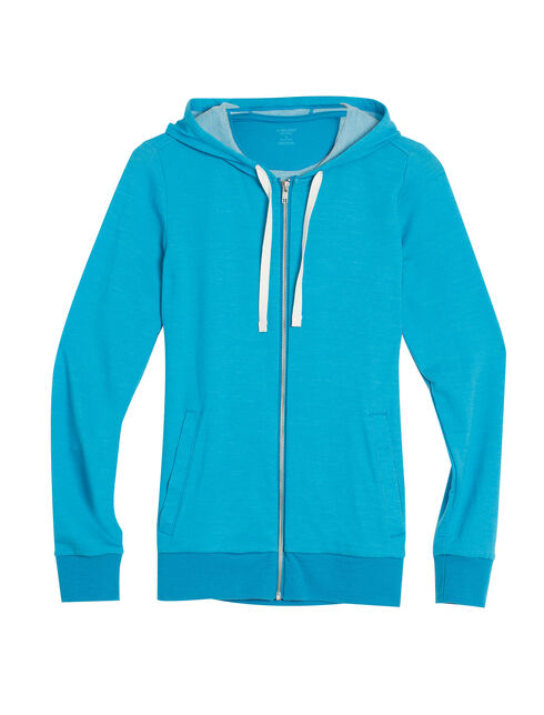 Allure Long Sleeve Zip Hood