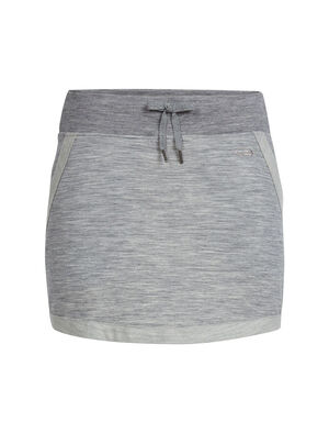 女款 Zoya Skirt A comfortable women's merino wool terry skirt with a jogger-style design, the Zoya Skirt is a soft and breathable skirt for before and after yoga or studio class.