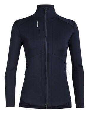 Merino Lucca Long Sleeve Zip Top