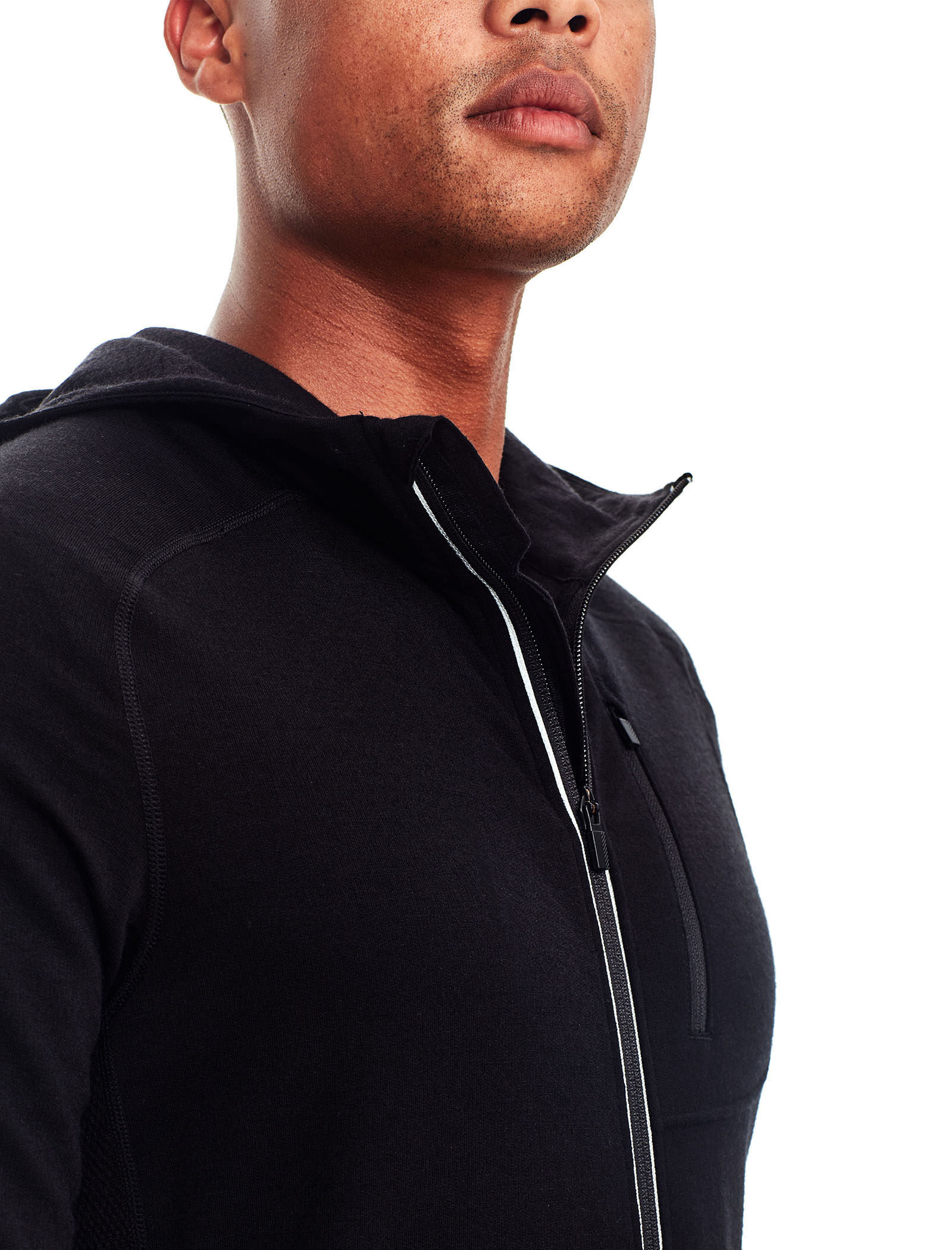 Quantum Long Sleeve Zip Hood Herren