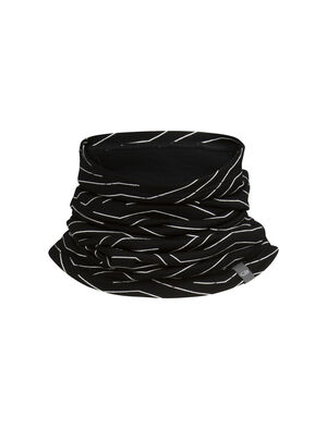 Unisex Merino Flexi Chute Napasoq Lines  Äußerst vielseitige Kopfbedeckung, die als Mütze, Stirnband, Gesichtsmaske oder Schlauchschal funktioniert, unser Flexi Chute Napasoq Lines besteht aus 100% Merinojersey, das weich, atmungsaktiv und geruchsabweisend ist.
