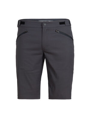 Mens Merino Persist Shorts Versatile and stylish men's merino-blend shorts perfect for travel, biking or any other adventure on your list, the Persist Shorts combine a durable, stretchy face fabric with soft merino wool for total active comfort.