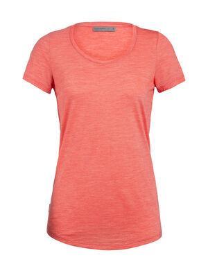 Cool-Lite™美丽诺羊毛Sphere短袖低圆领T恤