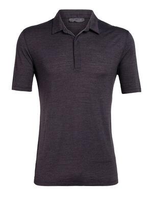 天然印染美丽诺羊毛Solace短袖Polo衫