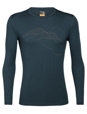 Merino 200 Oasis Long Sleeve Crewe Thermal Top The Higher We Go