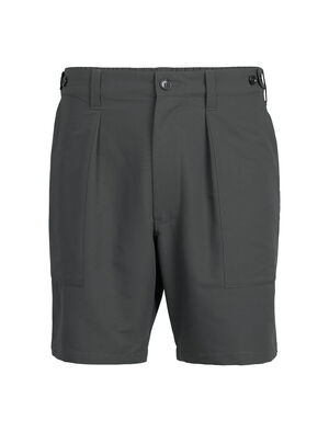 Homme 旅 TABI Merino-Shield Short Pants Dessinée par la maison japonaise GOLDWIN et conçue en collaboration avec icebreaker, la collection TABI allie les performances naturelles du mérinos à une esthétique raffinée.