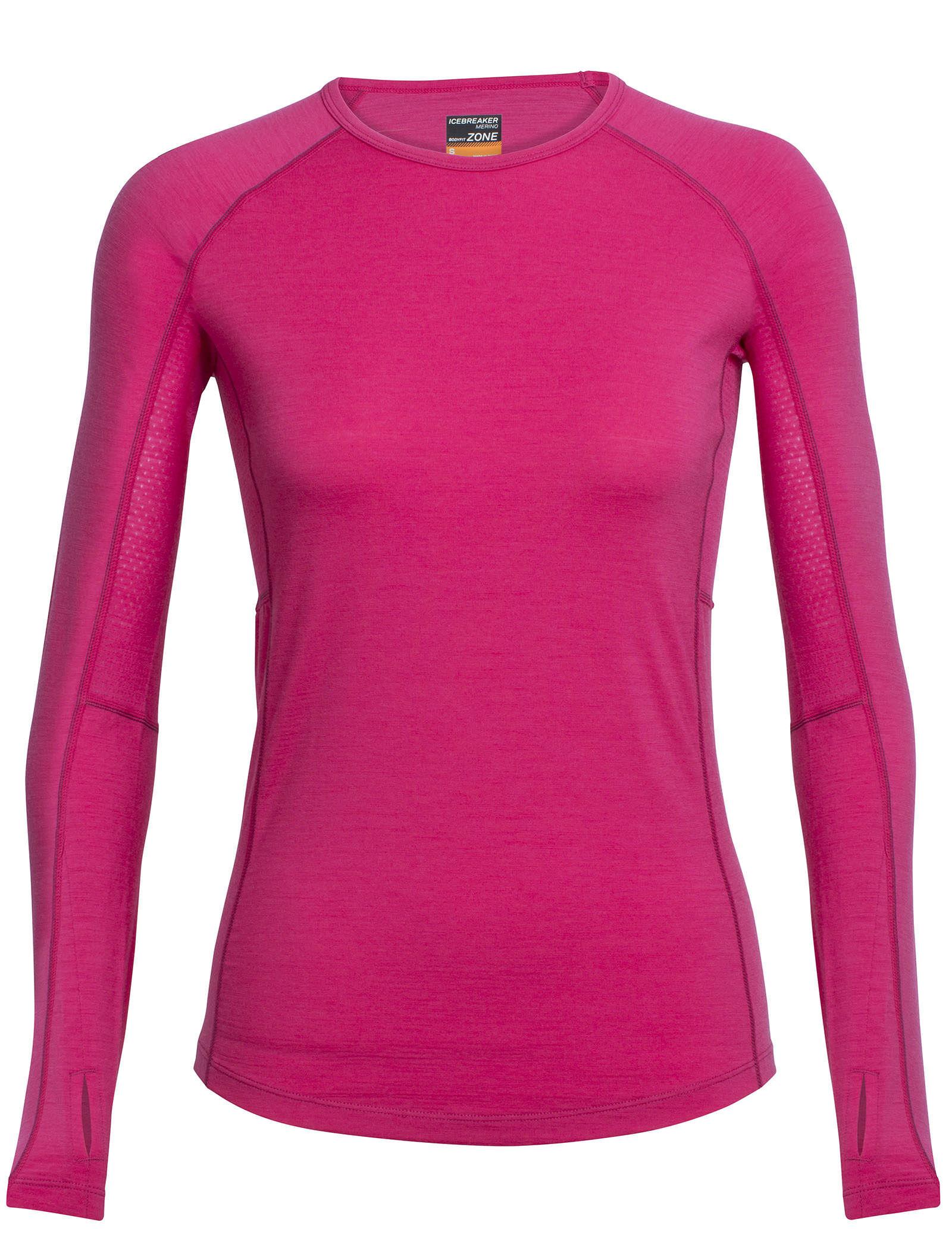 Icebreaker Womens Zone Long Sleeve Crewe T-Shirt
