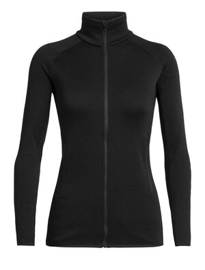 Womens RealFleece™ Merino Elemental Long Sleeve Zip Jacket A heavyweight mid layer ideal for training or adventures in cold conditions, the Elemental Long Sleeve Zip features a streamlined design and our stretchy merino RealFleece™.