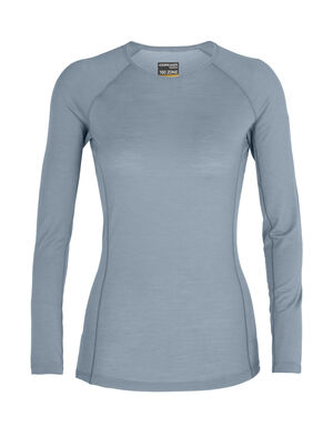 Womens BodyfitZone™ Merino 150 Zone Long Sleeve Crewe Thermal Top Our lightest base layer top that's perfect for active adventure and everyday training, the 150 Zone Long Sleeve Crewe features 150gm jersey corespun with LYCRA® to maximize flexibility.