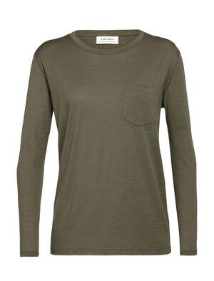 Merino Tech Lite Long Sleeve Pocket Crewe T-Shirt