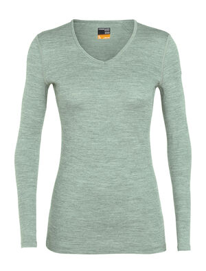 Merino 200 Oasis Long Sleeve V Neck Thermal Top