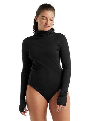 Merino Queens Long Sleeve High Neck Bodysuit