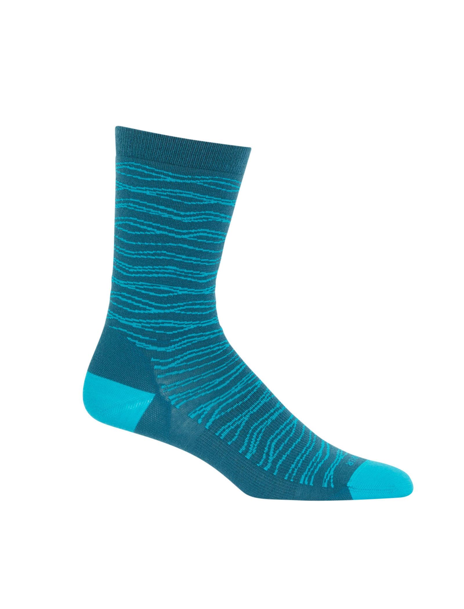 Icebreaker Damen Hike Light Crew Socks
