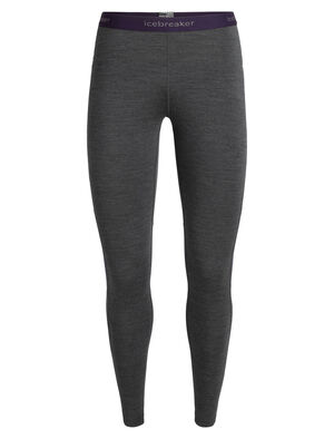Womens BodyfitZONE™ 200 Zone Leggings Lightweight women's merino wool base layer bottoms with strategically placed mesh panels for active ventilation, the 200 Zone Leggings are perfect for year-round use.