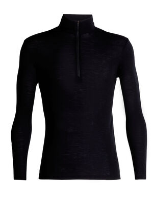 Mens 175 Everyday Long Sleeve Half Zip A classic, all-purpose men's zip-neck base layer top made with soft and breathable 100% merino wool fabric, the 175 Everyday Long Sleeve Half Zip is as versatile as it is comfortable.