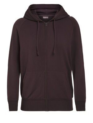 Womens Nature Dye Merino Helliers Long Sleeve Zip Hood Jacket A classic daily hooded sweatshirt made with our merino wool RealFleece™ fabric, the Nature Dye Helliers Long Sleeve Zip Hood is dyed with natural plant pigments.