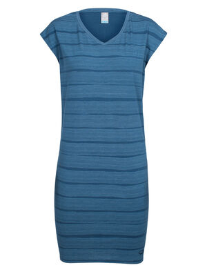 Cool-Lite™ Yanni Tee Dress Combed Lines