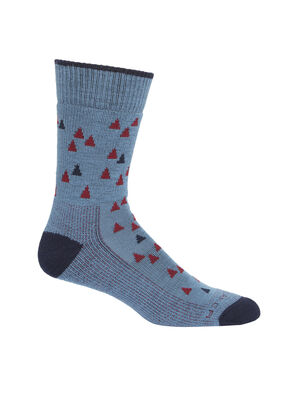 Merino Hike Medium Crew Socks Tree Line