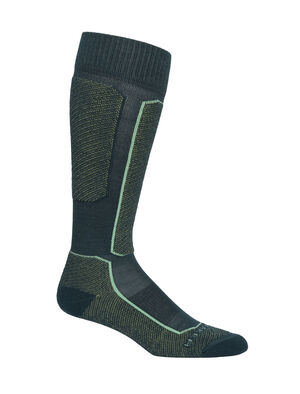 Womens Merino Ski+ Light Over the Calf Socks Stretchy and supportive merino socks for technical performance on snow, our strategically cushioned Ski+ Light Over the Calf socks are durable, breathable, and comfortable, with anatomical support in key areas.
