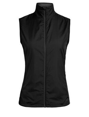 Femme Cool-Lite™ Rush Vest Veste technique en laine mérinos légère et résistante aux intempéries, la Rush Vest pour femme repousse les précipitations légères tout en évacuant activement l'humidité.