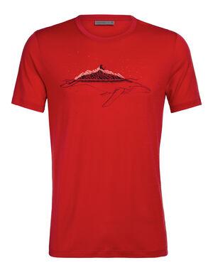 Merino Tech Lite Short Sleeve Crewe T-Shirt Whitecap Whale