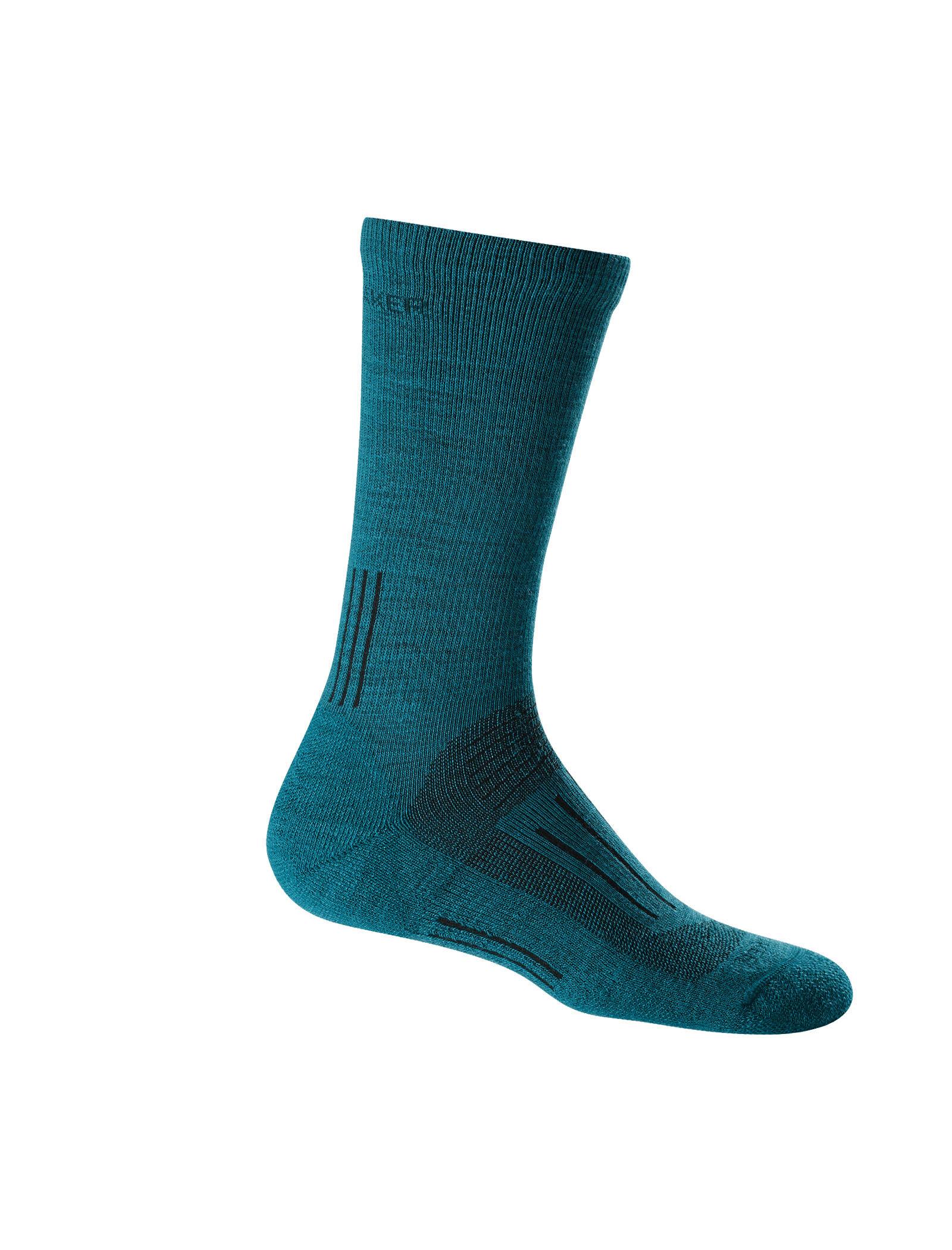 Icebreaker Merino Hike Light Cushion Merino Wool Crew Socks