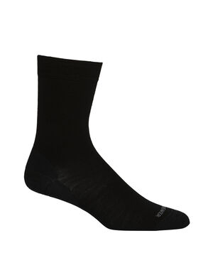 Femme Merino Lifestyle Fine Gauge Crew Socks Légères et douces, les mi-chaussettes Vie quotidienne à jauge fine sont des chaussettes de tous les jours faites en luxueuse laine mérinos fine. De plus, elles sont dotées d'un talon et d'orteils renforcés.