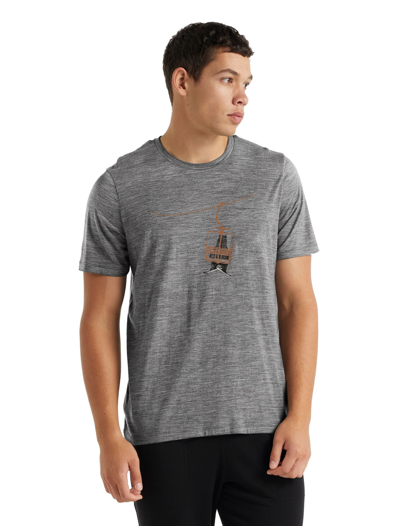 T-shirt manches courtes mérinos Tech LiteII Bear Lift
