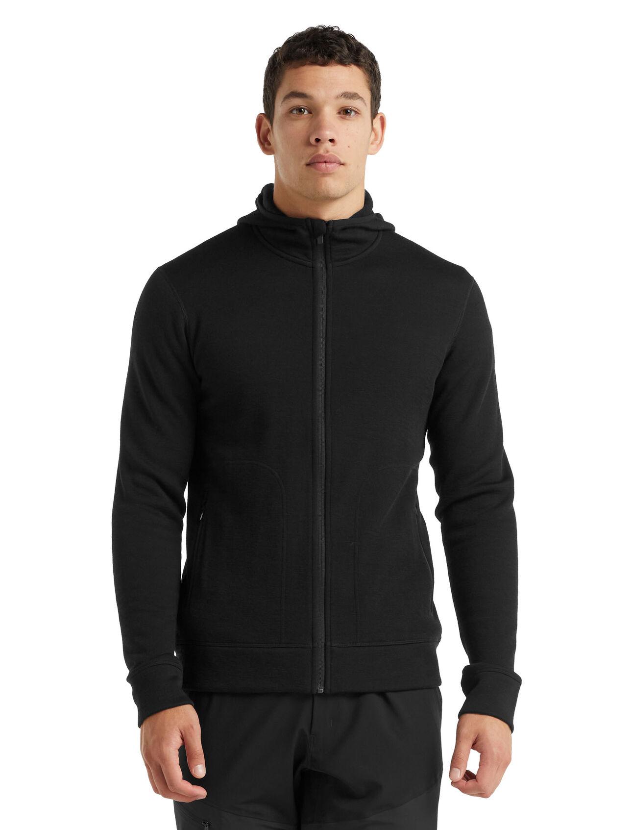 RealFleece® Merino Elemental Long Sleeve Zip Hood Jacket