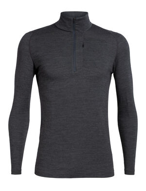 Mens Merino Spring Ridge Long Sleeve Half Zip A technical men's fleece pullover with an easy-layering slim fit and heat-trapping merino waffle knit, the Spring Ridge Long Sleeve Half Zip is an ideal alpine mid layer.