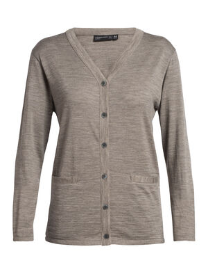 Womens Merino Oasis Cardigan  A classic button-up sweater made with our natural, 100% merino fabric, the Oasis Cardigan is lightweight, versatile, and stylish.