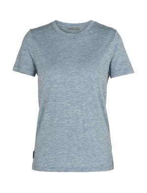 T-shirt manches courtes col rond mérinos Dowlas