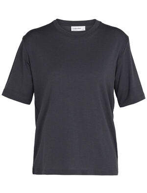 Womens Merino 150 Short Sleeve Crewe T-Shirt A classic and indispensable T-shirt with the natural benefits of merino wool, the 150 Short Sleeve Crewe is an everyday wardrobe essential.