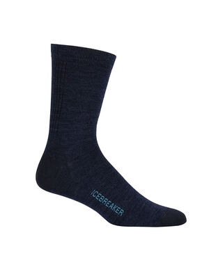 Mens Merino Lifestyle Ultralight Crew Socks Ultra-lightweight, soft, and breathable for everyday comfort, the Lifestyle Ultralight Crew socks are made with a stretchy and luxurious merino wool blend, with reinforced heels and toes.
