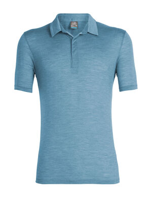 Mens Cool-Lite™ Solace Short Sleeve Polo A versatile, capable shirt for year-round style, the Solace Short Sleeve Polo features cool-lite™, a breathable, ultralight blend of merino and natural TENCEL™.
