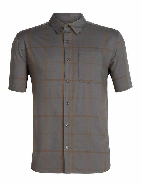 男款 Cool-Lite™ Compass短袖衬衫