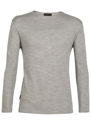 Mens 旅 TABI Deice Long Sleeve Crewe Designed by Japanese apparel house GOLDWIN and made in collaboration with Icebreaker, the 旅 TABI collection harnesses the natural performance qualities of merino with a refined aesthetic.