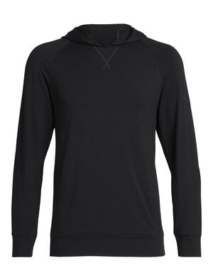 Mens Cool-Lite™ Merino Momentum Hooded Pullover Perfect for cool-weather and shoulder season training and travel, the Momentum Hooded Pullover is a midweight men's merino wool hoodie sweatshirt with our cool-lite™ fabric that uses natural TENCEL™.