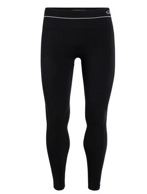 Mens Cool-Lite™ Motion Seamless Tights Form-fitting mens merino-blend stretch tights ideal for gym training, the Motion Seamless Tights feature an innovative construction with incredible breathability.