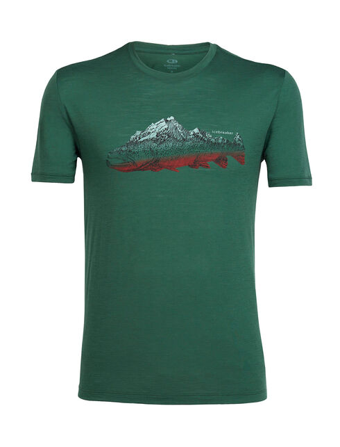 Tech Lite Short Sleeve Crewe Fin Peaks