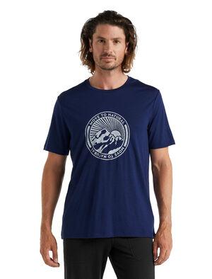 Tech Lite II T-shirt Move to Natural Mountain met korte mouwen van merinowol