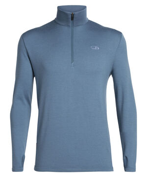 Mens Merino Original Long Sleeve Half Zip Top The evolution of the pullover top that started it all, the Original Long Sleeve Half Zip features 100% natural merino wool that's ideal for travel or everyday wear.
