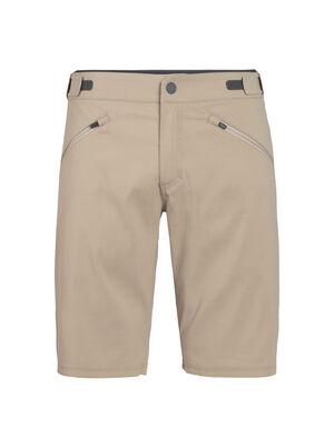 男款 Persist短裤 男款Persist短裤采用耐穿有弹性的布面与柔软的美丽诺羊毛混纺面料,实现有型又舒适的穿着,这款短裤用途广泛,是旅行、骑车和其他运动的理想选择。