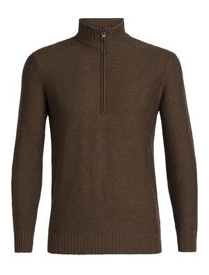 男款 Waypoint长袖半拉链上衣 选用100%美丽诺羊毛制成的Waypoint长袖半拉链上衣,透气、舒适、保暖,是专为冬季御寒打造的美丽诺羊毛休闲针织衫。